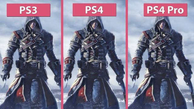 Comparan Assassin's Creed Rogue Remastered con el original