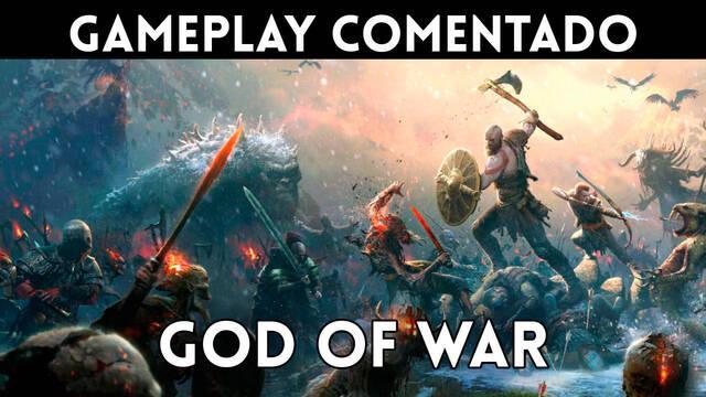 Gameplay comentado de God of War