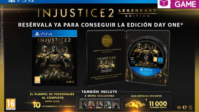 GAME venderá en exclusiva la Day One Legendary Edition de Injustice 2