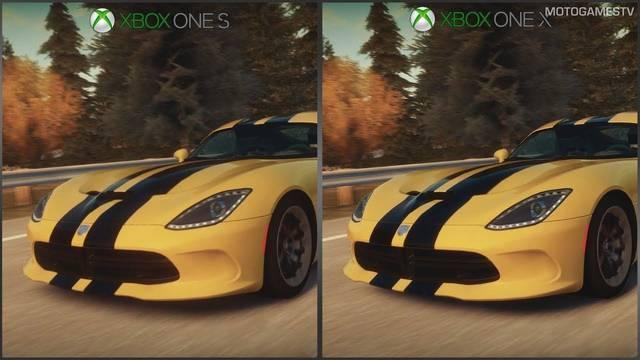 Un vídeo nos muestra cómo mejora el primer Forza Horizon en Xbox One X