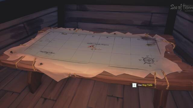 Plano en Sea of Thieves