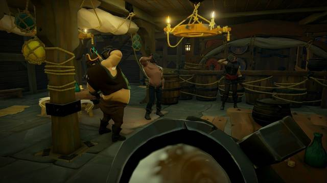 Un arma asquerosamente efectiva - Sea of Thieves