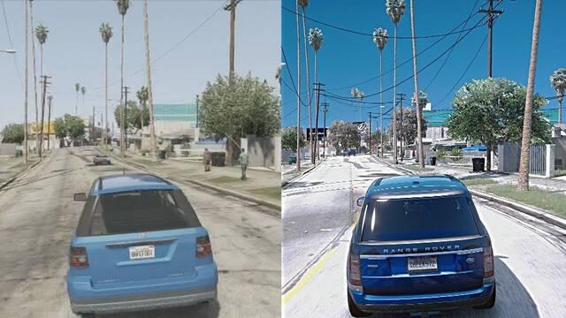 Así se ve GTA V con mods en un PC de 10.000 dólares