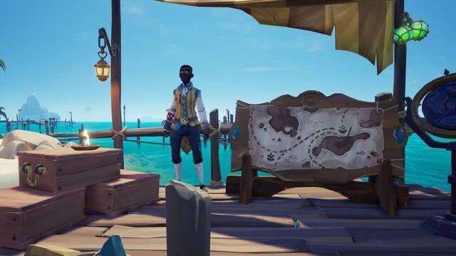 Subir el nivel de la compañía en Sea of Thieves