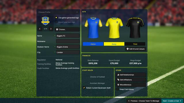 Football Manager Touch 2018 aparece clasificado para Switch