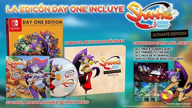 Shantae Half-Genie Hero Ultimate Edition llegará a Switch y PS4 el 27 de abril