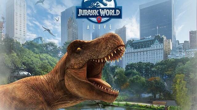 Anunciado Jurassic World Alive, un 'Pokémon Go' con dinosaurios