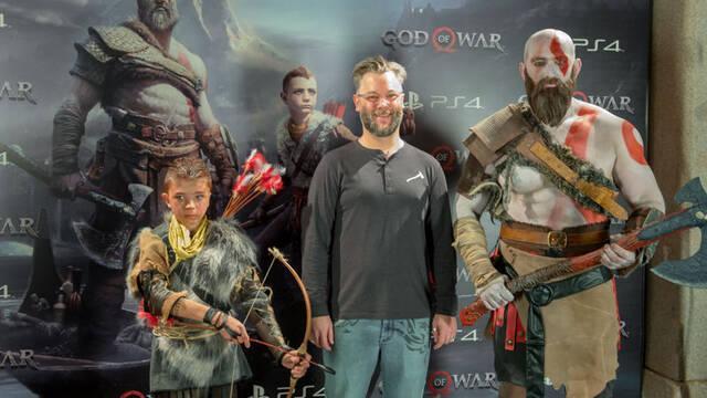 Sony presenta God of War en Madrid