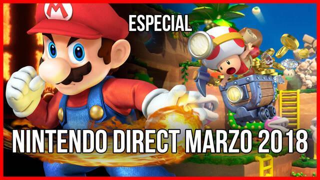 Vandal TV: Especial Nintendo Direct de marzo 2018
