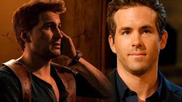 Ryan Reynolds estuvo cerca de ser Drake en la película de Uncharted