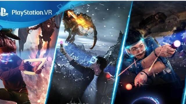 Sony anuncia nuevos packs de PlayStation VR con un juego desde 259,99 euros