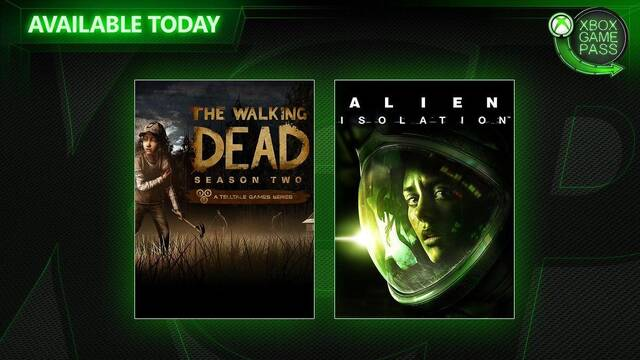 Xbox Game Pass recibe Alien: Isolation y The Walking Dead Temporada 2