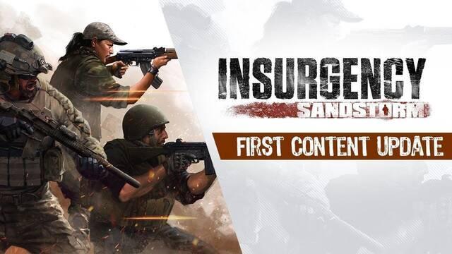 Insurgency: Sandstorm recibe su gran actualización y estrena modos y armas