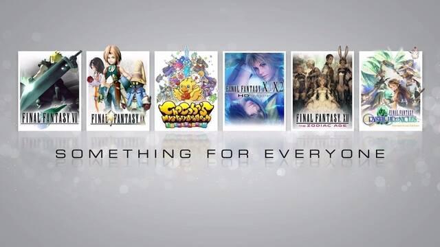 Square Enix repasa los próximos lanzamientos de la saga Final Fantasy