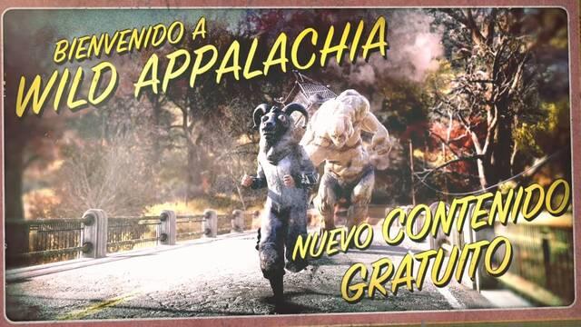Fallout 76 da la bienvenida a la actualización gratuita 'Wild Appalachia'