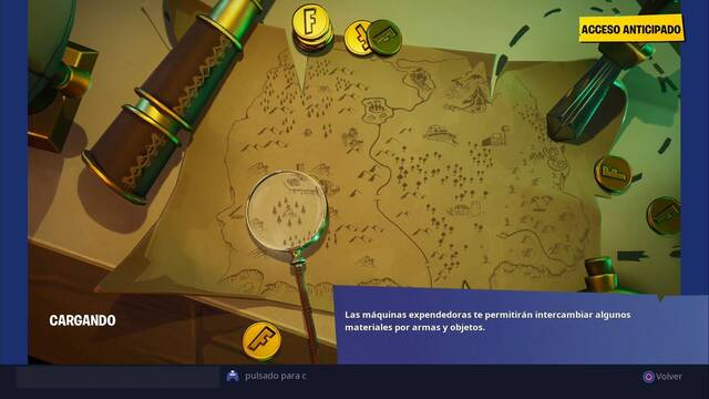 Fortnite: ¿Dónde apunta el cuchillo en la pantalla de carga del mapa del tesoro?