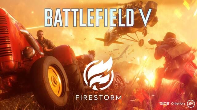 Battlefield 5: Primer tráiler de Firestorm, el Battle Royale de Battlefield