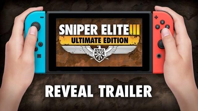 Anunciado Sniper Elite 3 Ultimate Edition para Nintendo Switch