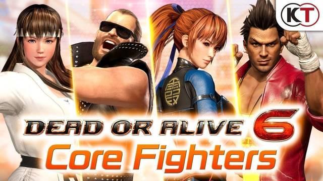 Ya disponible Dead or Alive 6: Core Fighters, la versión gratuita de DOA 6