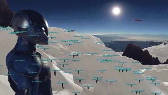El MMO Dual Universe simula a 30.000 jugadores en un mismo servidor