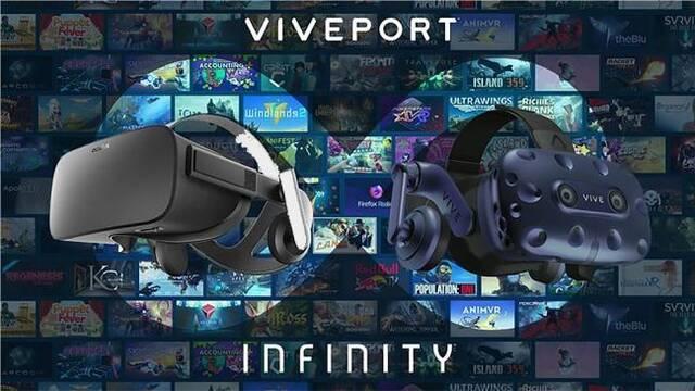 Viveport Infinity, el Netflix de la realidad virtual de HTC, llega el 2 abril