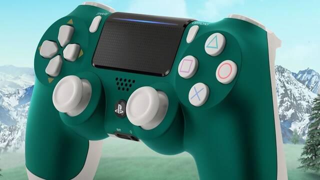 Así es la nueva edición Alpine Green del DualShock 4