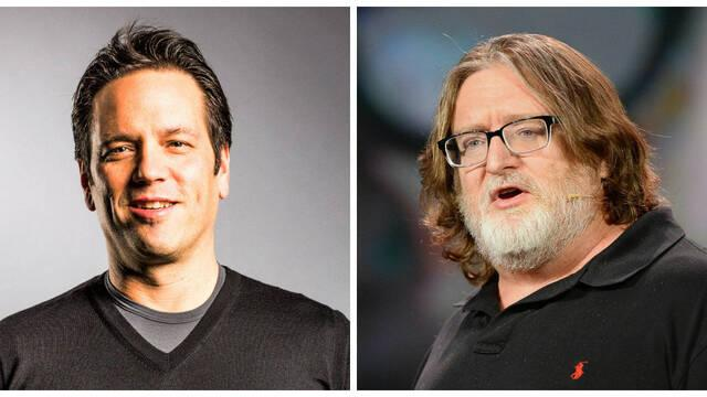 Gabe Newell alaba a Phil Spencer por la llegada de Halo: MCC a Steam