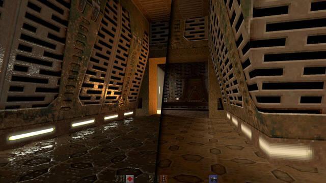 Así luce Quake 2 con iluminación ray tracing