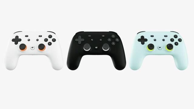 Así es el mando de Stadia, la plataforma de juego en streaming de Google