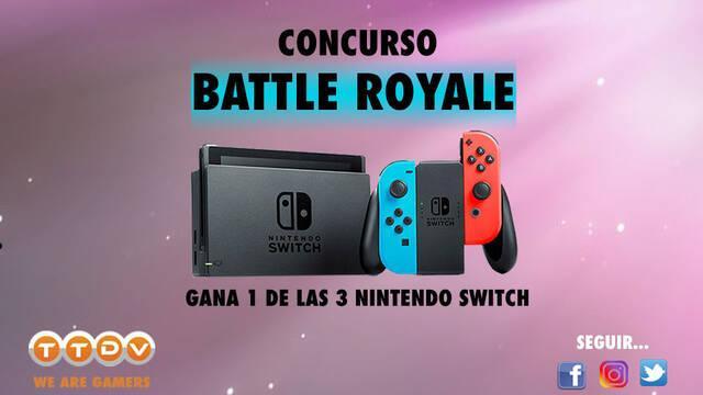 Gana con Tu Tienda de Videojuegos 3 consolas Nintendo Switch