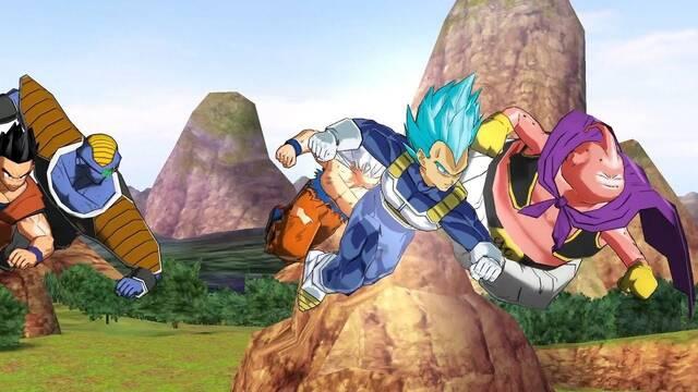 Así se lucha en Super Dragon Ball Heroes: World Mission