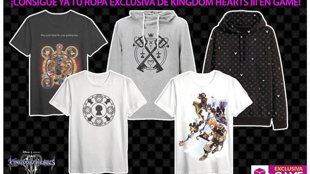 GAME muestra su nueva camiseta exclusiva de Kingdom Hearts III
