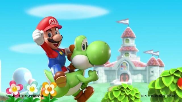 Primer adelanto de la estatua de Mario y Yoshi por First 4 Figures