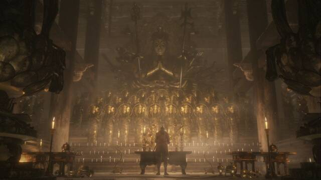 Templo de Senpo en Sekiro: secretos y 100%