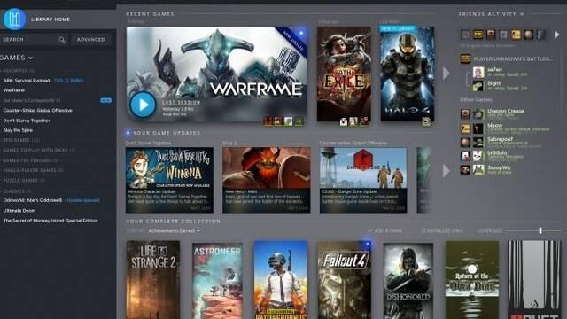 Steam muestra las primeras imágenes y detalles de su rediseño