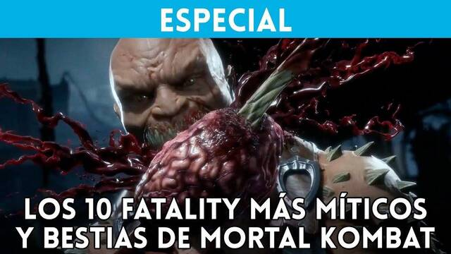 Recopilamos los 10 mejores fatalities de la saga Mortal Kombat