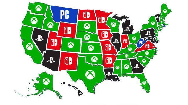 Xbox es la plataforma de videojuegos preferida de EE.UU.