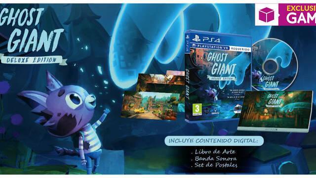 GAME detalla la Deluxe Edition de Ghost Giant, que ya se puede reservar