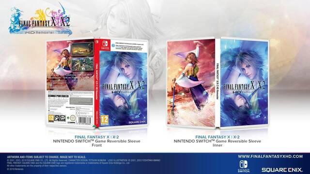 Final Fantasy X | X-2 HD tendrá carátula reversible en Nintendo Switch