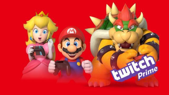 Twitch Prime regala hasta 12 meses de Nintendo Switch Online