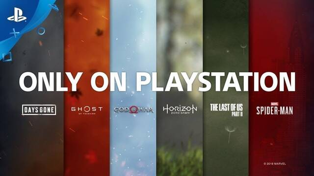 Sony saca pecho en un vídeo que reúne los mejores juegos exclusivos de PS4