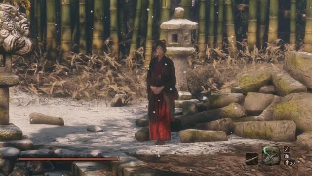 Emma en Sekiro - Misión y recompensas