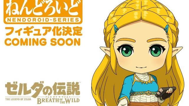 Anunciada una nueva figura 'Nendoroid' de Zelda en Breath of the Wild