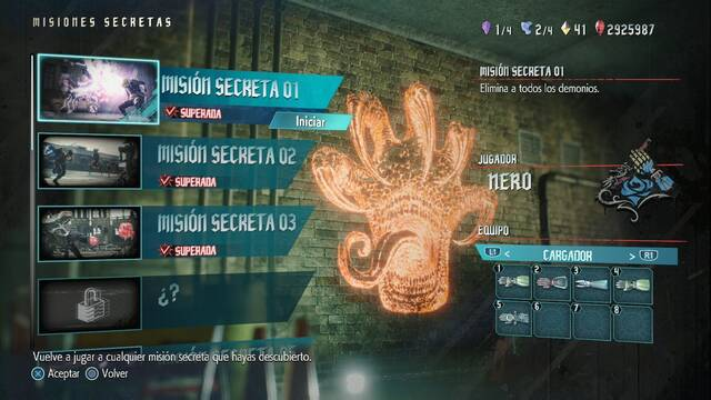 TODAS Las Misiones secretas en Devil May Cry 5 -  Localización