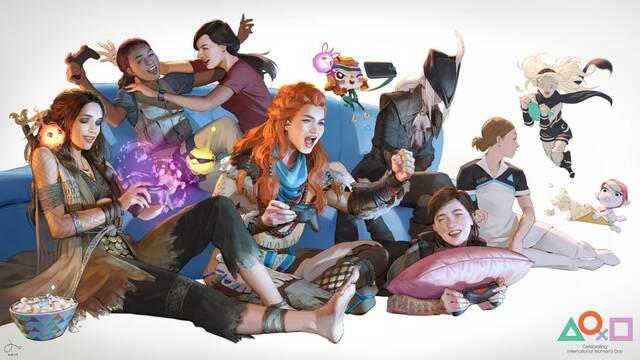 PlayStation celebra el Día Internacional de la Mujer con vídeo y tema gratuito