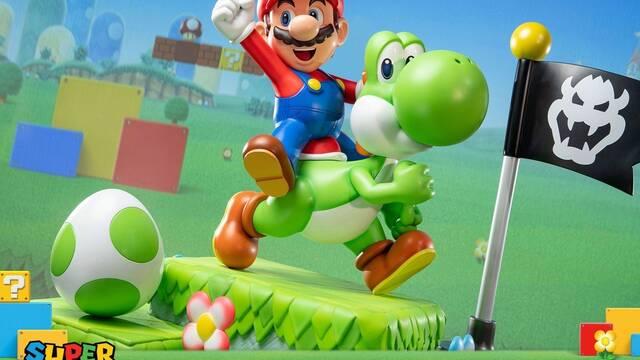 Ya se puede reservar la estatua de Mario y Yoshi de First 4 Figures