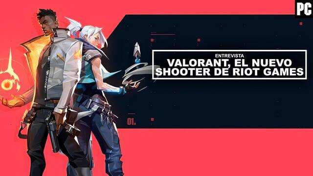 Entrevista Valorant, el nuevo shooter de Riot Games