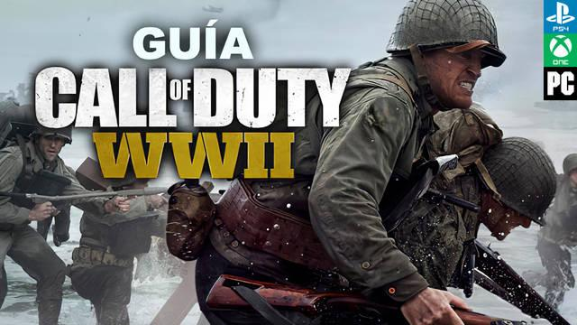 Guía Call of Duty WWII, trucos y consejos