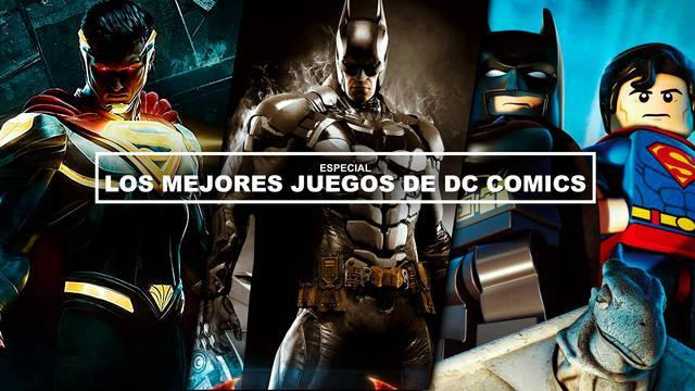 Los 10 mejores juegos de DC Comics de la generación
