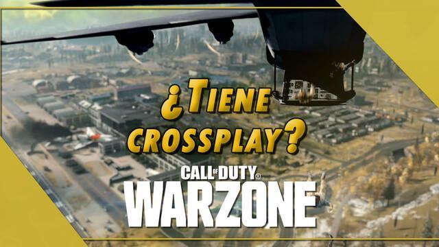 CoD: Warzone: ¿tiene crossplay o juego cruzado entre plataformas?